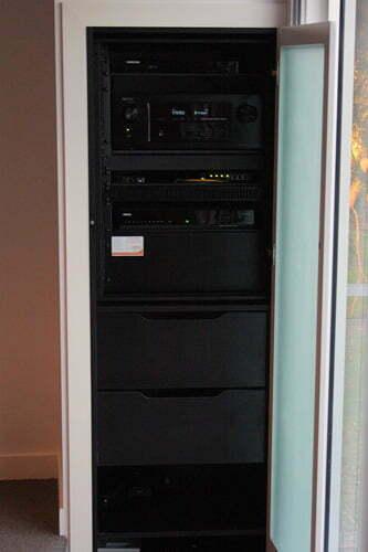Rack installed