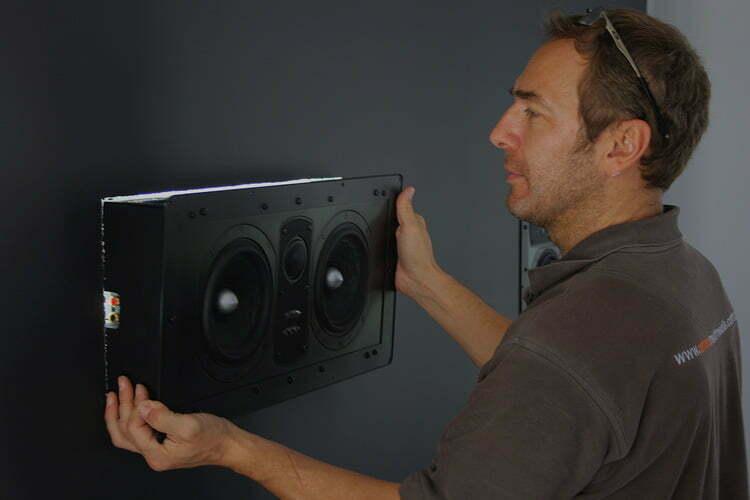 In-wall Speaker Installation